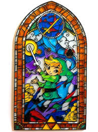 legend of zelda stained glass stained glass wall decal together with superb hit the jump to