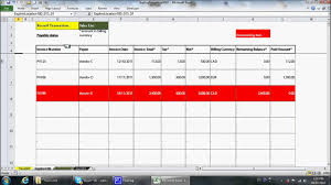 Small Business Bookkeeping Template Simple Excel Bookkeeping Template Youtube