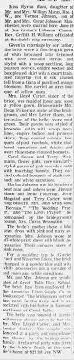 Myrna Mann wedding - Newspapers.com