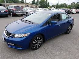 honda civic sedan 2014. Interesting Civic 2014 Honda Civic Sedan 4dr CVT EX In Queensbury NY  Du0027ELLA For