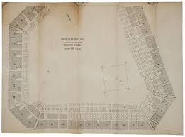 Ebbets Field Seating Chart Lot Detail Circa 1952 Ebbets Field Seating Diagram