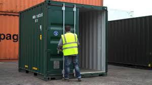 10ft shipping container for sale - www.bullmanscontainers.co uk - YouTube