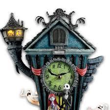Nightmare Before Christmas Bedroom Decor Amazoncom Cuckoo Clock Tim Burtons The Nightmare Before