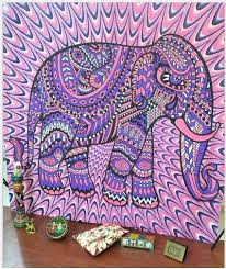 Bohemian Tapestry Multiple Designs Products Elephant