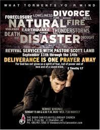 church revival flyers scott lamb revival flyer the door christian center a local