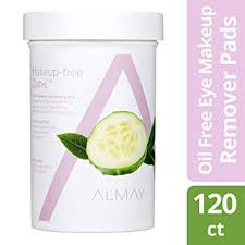 amazon almay eye makeup remover pads oil free hypoallergenic free from fragrance 120 pads beauty