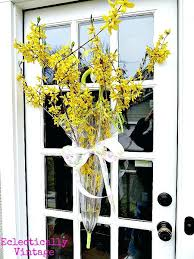 Front Door Decorations For Spring Umbrella Filled With Colorful