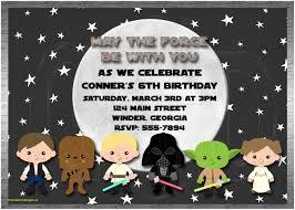 star wars birthday invite template star wars birthday invitation template free elegant baby shower star