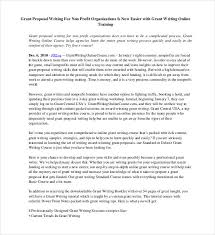 38 Grant Proposal Templates Doc Pdf Pages Free
