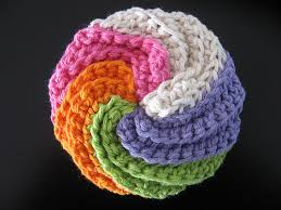 Free Crochet Patterns For Scrubbies Classy Help With Pattern For Spiral Scrubbie