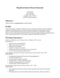 cover letter nursing resumes objectives nursing assistant resume - Objective  For A Nursing Resume