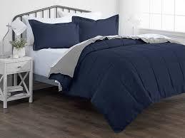 down alternative reversible comforter