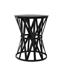 black iron drum side table small coffee and side tables uncategorized design depot