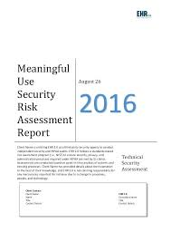 Security Risk Assessment Template Custom Security Vulnerability Report Template Awesome Inspirational Network