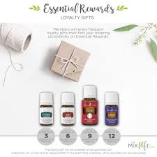 young living gives loyalty gifts for remaining on er after 3 consecutive months you get a