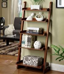 creative design leaning wood and metal wall shelving unit decorative shelving decorating ideas 14 shapely wall