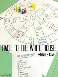 Diagram white house diagram race to the printable board game