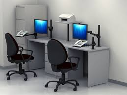 Dual Office Table