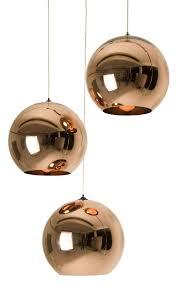 Pendant Copper Round By Tom Dixon Copper Made In Design