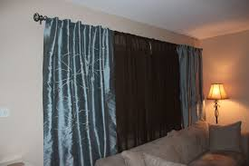 blue and brown living room curtains revolutionhr