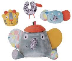 Набор <b>мягких игрушек Ebulobo</b> Слонёнок Зигги и его друзья 20 см ...