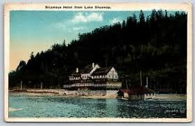 #bcwildfire service is assisting the #sicamous and swansea point fire departments in response to a wildfire burning 2km se of the district of sicamous (k42078). Sicamous Hotel From Lake Shuswap British Columbia Canada White Border Postcard Ebay