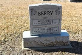 Berry - Cana Cemetery - Cana, TX - Graves Mentioning a Cause of Death on  Waymarking.com
