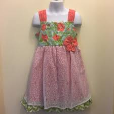 Clearance Girls Lace Casual Spring Summer Dress Boutique