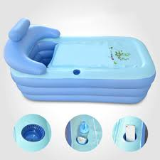 plastic bathtub detail image portable for s baby bath tub target walk in al india with drain home decor 2size blowup spa pvc folding warm 16