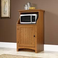 Microwave Furniture Cabinet Sauder Select Gourmet Stand 401902 Sauder