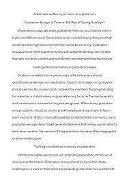 graduation essay ideas  wwwgxartorg graduation essay examplesgraduation essay
