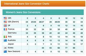 jean size converter women jean size chart conversion dolap magnetband co