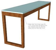 Ikea Besta Burs Inspired Desk (WITH Drawers)