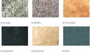 stone counter types of stone countertops good wood countertops
