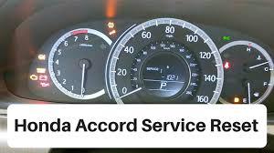 Honda Accord Emissions Indicator Light 2012 2016 Honda Accord Service Light Reset