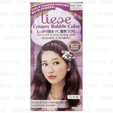 Liese Color Chart Liese Creamy Bubble Hair Color Rose Tea Brown From