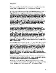 sherlock holmes essay compare the two short stories man the  page 1 zoom in