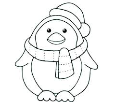 Cartoon Penguin Printable Coloring Pages Coloring Pages Penguins