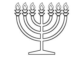 Small Picture Menorah Colouring Page Part 4 Free Resource For Teaching
