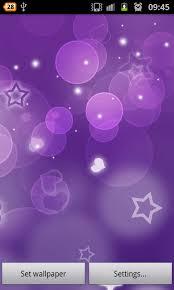 purple hearts live wallpaper free screenshot 1 6