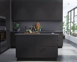 Preciously Me blog : Ikea 2017 New Collection. Kungsbacka matte black  kicthen made from recycled