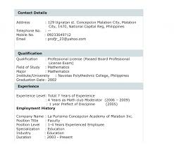 Bistrun Example Resume For College Students Examples And Simple