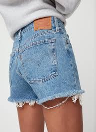 Levi High Waisted Shorts Size Chart Levis 501 High Rise Aritzia Ca