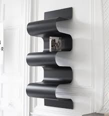 Wall Mount Bookcase Wall Mounted Bookcase Original Design Metal By Julien Vidame