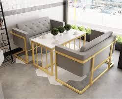 cafe bar sofa milk tea table and