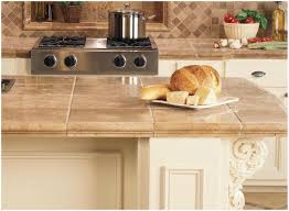 Granite Tile For Kitchen Countertops Kitchen Ceramic Tile Kitchen Countertops Ideas Step 3 Diy