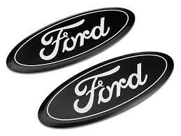 ford emblem. Simple Ford Putco Billet Aluminum Ford Oval Grille Emblem  Black 1517 F150 On R