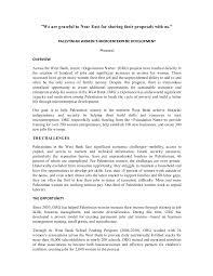 Sample Proposal On Womens Microenterprise Development