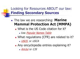 Ppt Finding The Law Administrative Law Secondary Sources In