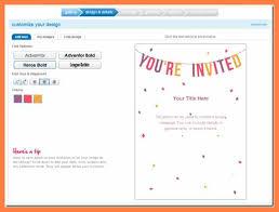 6 Free Online Invitation Andrew Gunsberg